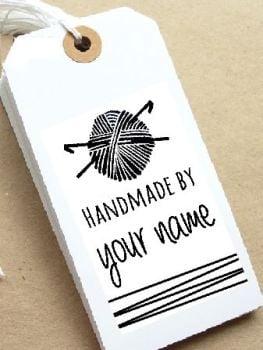 Crochet Personalised Stamp