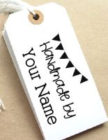 Bunting Personalised Stamp
