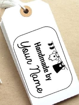 Clothes Line Personalised Stamp