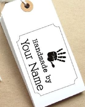 Handprint Personalised Stamp