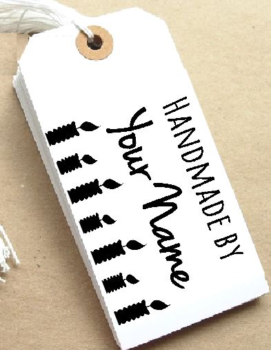 Candles Personalised Stamp