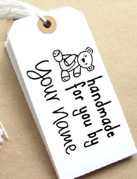 Teddy Personalised Stamp