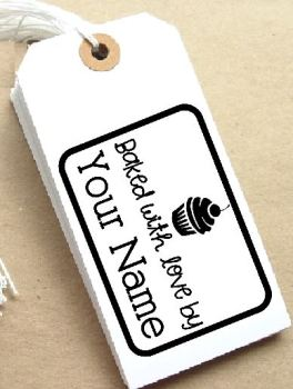 Cupcake Personalised Stamp