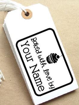 Cupcake Personalised Stamp