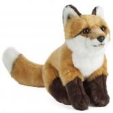 Large fox plush soft toy