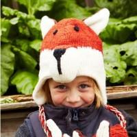 Pachamama kids fox hat
