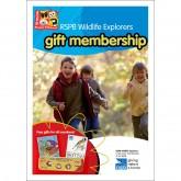 RSPB WEX gift membership pack