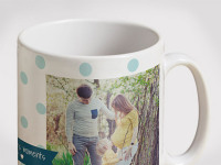 Personalised mugs from Photobox