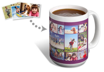 Snapfish.co.uk have a large collage mug
