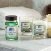 Love nature candle gift set