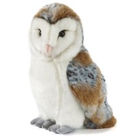 Give a barn owl plush soft toy