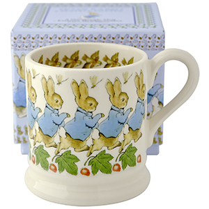 Peter Rabbit 1/2 Pint Mug Boxed from Emma Bridgewater