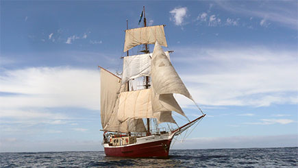 Sail away to see the Tall Ships experiences available through Red Letter Days here