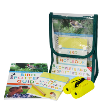 The Complete Bird Spotter's Kit by Mike Langman