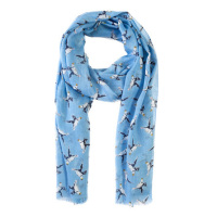 National Trust Farne Island Puffin Scarf, Blue