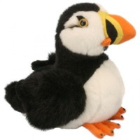Puffin plush soft toy