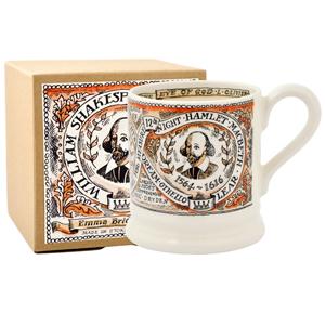 Shakespeare 1/2 Pint Mug Boxed
