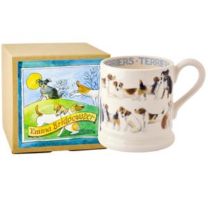 Terrier All Over 1/2 Pint Mug Boxed