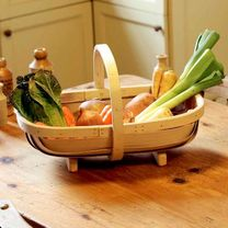 Traditional Handmade South Down Trug from Suttons Seeds