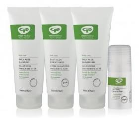 Save £10.50 on Green People's New Limited Edition Aloe Vera Collection