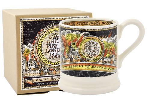 Great Fire of London 1/2 Pint Mug Boxed from Emma Bridgewater