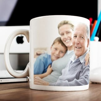 What about a personalised mug they can enjoy a hot brew from?