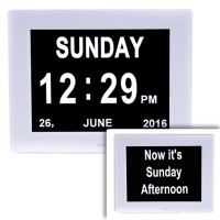Dual Display Day Clock