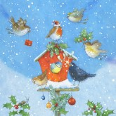 Spread Christmas Cheer with these cheery Christmas cards!