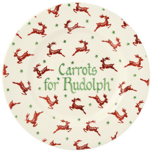 Personalised Reindeer 8 1/2 Plate