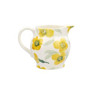 Yellow Wallflower 1/4 Pint Jug