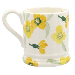 Yellow Wallflower 1/2 Pint Mug