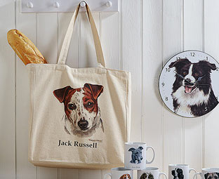 A Dog Breed Tote Bag - perfect for shopping!