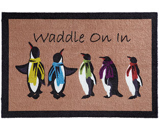 Do the penguin waddle..... come on in!