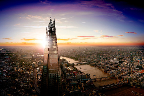 The View from The Shard with a Three Course Meal for Two at Marco Pierre White's London Steakhouse Co