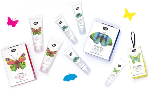 Gifts to support Butterfly Conservation from Green People
