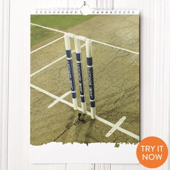 Personalised Cricket Calendar - 1st Edition