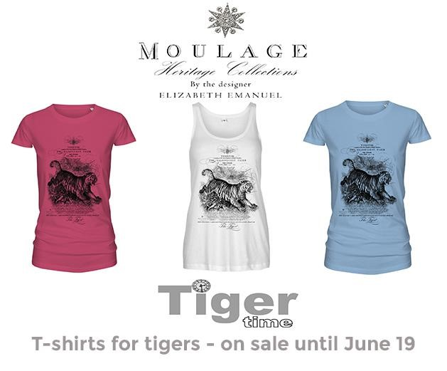Click here to see the tee-shirts available to help raise awareness of tigers