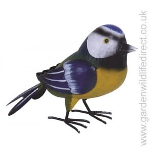 Blue Tit Garden Bird Metal Ornament
