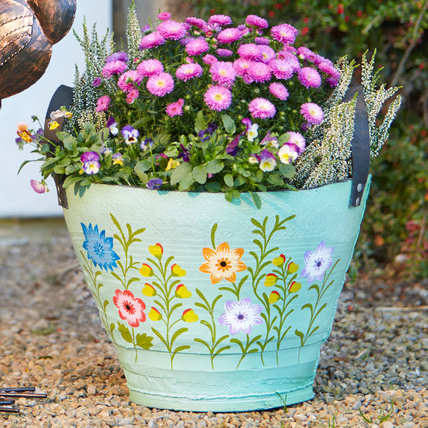 Recycled Tyre Planter from Natural Collection