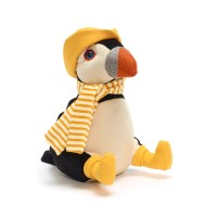 A puffin doorstop from the RSPB