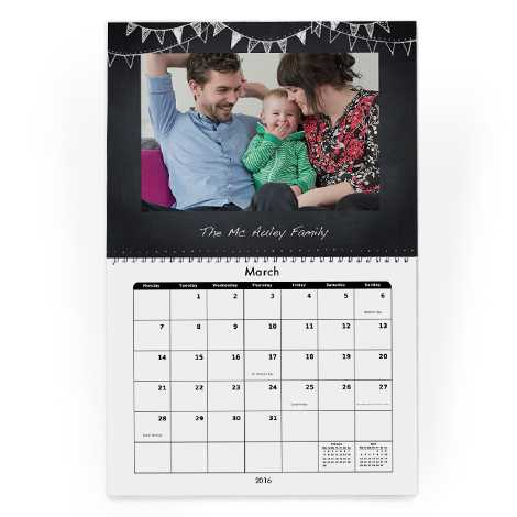 They also have a range of photo calendars - with desk calendars and wall calendars for instance