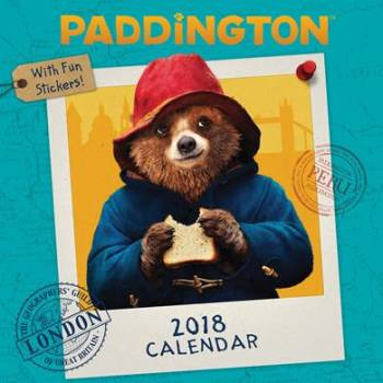 Paddington Bear Movie Calendar 2018