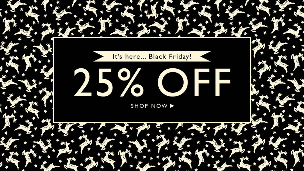 Black Friday at Emma Bridgewater - 25% off
