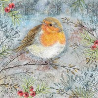 Midnight Robin 1000 Piece Jigsaw
