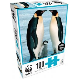 WWF 100 Piece Jigsaw Puzzle - Penguins