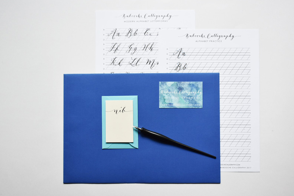 Discover the art of calligraphy in this Calligraphy Workshop
