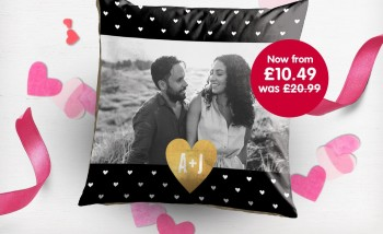 Special offer on photo cushions from Boots