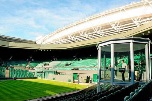 See the Centre Court, which has seen amazing battles between Wimbledon finalists
