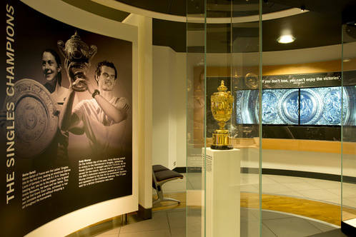 Visit the Wimbledon Lawn Tennis Museum
