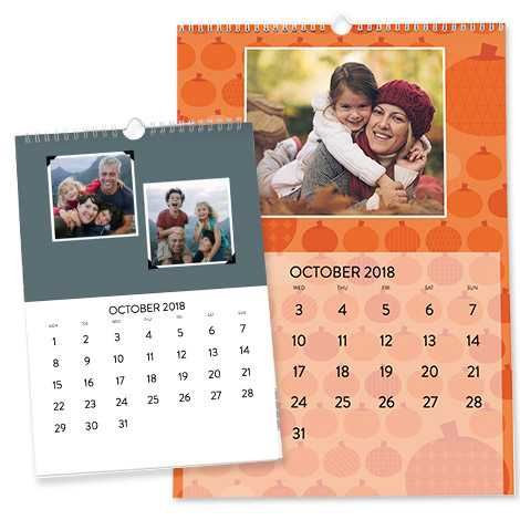 Personalised calendars from Snapfish.co.uk